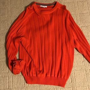 Men's cable knit sweater XXL